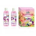 Подарочный набор для девочек №1170 Pony little star (шампунь+пена для ванн+магнит)