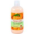 """Крем-гель для душа """"Tangerine & Awapuhi"""" """"Fresh Juice"""", 500 мл (33% увлажняющего молочка)"""