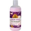 """Крем-гель для душа """"Passion fruit&Magnolia"""" """"Fresh Juice"""", 500 мл косметика Эльфа (33% увлажняющего молочка)"""