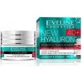 Укрепляющий крем-филлер против морщин 40+ серии New Hyaluron, 50мл косметика Eveline
