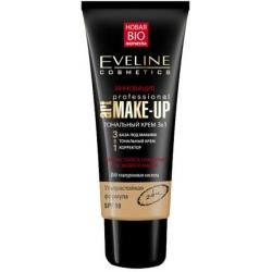 Тональный крем Art professional make up 3 в 1 натуральный Eveline, 30 мл