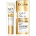 Эксклюзивный золотой крем против  морщин для контура глаз серии gold lift expert, 15мл косметика Eveline