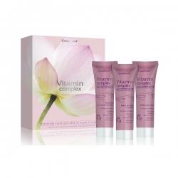 Compliment Подарочный набор №994 Vitamin Complex (крем д/лица+крем д/рук+молочко д/снятия макияжа)