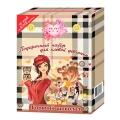 """Подарочный набор для девочек №1046  IVY """"Горячий шоколад"""" (шампунь 250 мл + лосьон для тела 250 мл)"""