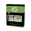 Подарочный набор мужской косметический № 73 зеленый IQ Compliment (шампунь + бальзам после бритья)