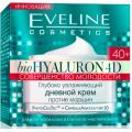 "Глубоко увлажняющий дневной крем против морщин 40+, ""Bio Hyaluron 4D"" 50мл Eveline"