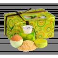 """Женский подарочный набор """"Марсель"""" (бур.шар, глиц.мыло, соль, крем для рук) Кафе Красоты (арт.0771)"""