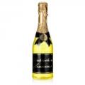 """Гель для душа шампанское в бутылке шампанского желтая """"Прикосновение нежности"""" Галант косметик 550 мл"""