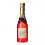 """Гель для душа шампанское в бутылке шампанского красная """"Прикосновение нежности"""" Галант косметик 550 мл"""