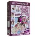 """Подарочный набор для девочек №1810 """"#INSTA GIRL""""  (Ш-нь д/волос 200мл + Гель для душа 200мл + браслет силиконовый)"""