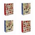 """Подарочный пакет-сумка средний  """"Люкс Бабочки"""" (арт.251900034С)"""