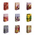 """Подарочный пакет-сумка большой ламин.микс """"Цветы"""" (арт.248819C)"""