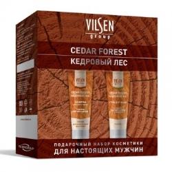 """Мужской подарочный набор VILSEN """"CEDAR FOREST"""" Набор (Шампунь для волос и бороды 250мл + Гель для душа 250мл)*"""