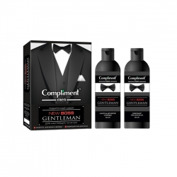 Мужской подарочный набор №1770 men NEW BOSS Gentleman (Шампунь для волос и бороды 250мл + Гель для душа 250мл)