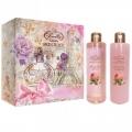 Женский подарочный набор French Rose Liss Kroully Skin Juice NP-1701 Французская роза: Гель для душа 260 мл + шампунь French Rose 260 мл (арт.A_42796)