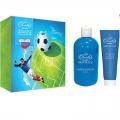 Мужской подарочный набор футбол skin juice LISS KROULLY МN-1805 шампунь-гель 2 в 1 (300мл)+ гель для бритья Super Aloe (100мл) НЕТ В НАЛИЧИИ