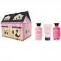 Парфюмерно-косметический подарочный набор NP-1805 Домик Liss Kroully Skin juice Гель для душа 270 мл + Пена для ванн 270 мл + Крем для рук питательный 75 мл (арт.A_43500)