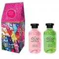 Новогодний подарочный набор набор Домик MO-1804 Гель для душа увлажняющий «Skin Juice» 270мл + Пена для ванн восстанавливающая «Skin Juice» 270мл Liss Kroully Skin juice (арт.A_43493)