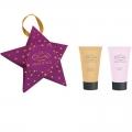 Новогодний подарочный набор Парфюмерно-косметический Звезда MO-1803 Liss Kroully Skin juice Крем для рук питательный 75 мл + Крем для рук и ногтей 75 мл (арт.A_43492)