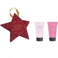 Новогодний подарочный набор Парфюмерно-косметический Звезда MO-1802 Liss Kroully Skin juice Маска для рук 75 мл + Крем для рук и ногтей 75 мл (арт.A_43491)