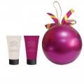 Новогодний подарочный набор Парфюмерно-косметический NY-1812 Шар Liss Kroully Skin juice Крем для рук питательный 75 мл + Крем для рук и ногтей 75 мл (арт.A_43489)