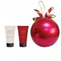 Новогодний подарочный набор парфюмерно-косметический NY-1809 Шар Liss Kroully Skin juice Крем для рук увлажняющий 75 мл + Крем для рук и ногтей 75 мл (арт.A_43488)