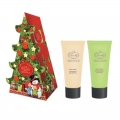 Новогодний подарочный набор Skin juice NY-1804 Елочка Крем для рук и ногтей 75 мл + Крем для рук 75 мл Liss Kroully (арт.A_43484)