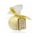 Новогодняя подарочная соль шипучая Liss Kroully Skin Juice Соль шипучая для ванны Шарик 90 гр