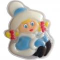 Новогоднее подарочное глицериновое фигурное мыло 17M Снегурочка 80 гр (арт.A42908)
