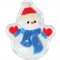 Новогоднее подарочное глицериновое фигурное мыло 10M Снеговик 80 гр (арт.A42907)