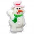 Новогоднее подарочное глицериновое фигурное мыло 40M Снеговик 80 гр (арт.A42905)