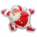 Новогоднее подарочное глицериновое фигурное мыло 39M Дед мороз 80 гр (арт.A42904)