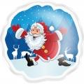 Гель-пена для душа Дед Мороз 60 мл с ароматом жевательной резинки МГ43 (арт.A42868)