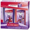 """Подарочный набор для мальчиков """"SUPER BOY"""" ((Шампунь д/ вол. д/мальчиков с 7 лет,275мл.+Гель д/душа 275мл.) Витекс"""