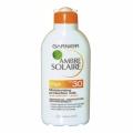 Солнцезащитное молочко для чувствительной кожи лица и тела Ambre Solaire Garnier SPF 30 200 мл (арт.00013963)