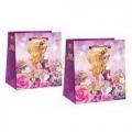 Подарочный пакет-сумка средний Мини Леди для девочек (арт.2501)