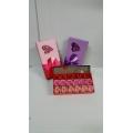 Подарочный набор для женщин на 8 Марта розы с мыльными лепестками с ароматом в подарочной коробке (арт.052223)
