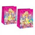 Подарочный пакет-сумка средний Мини Леди для девочек (арт.2502)