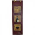"""Подарочный пакет-сумка средний """"МУЖСКОЙ"""" под бутылку (микс) (арт.41040)"""