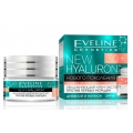 Увлажняющий крем-эксперт против первых морщин 30+ серии New Hyaluron, 50мл косметика Eveline