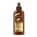 Масло для загара солнцезащитное водостойкое Sun Care SPF15 спрей Eveline