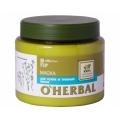 """Маска для сухих и тусклых волос, 500 мл """"O Herbal"""" Эльфа"""