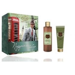 Подарочный набор для мужчин MN-1602 (гель для душа 2 в 1 Cool Green 250 мл+увлажняющий крем после бритья Supper Aloe 100 мл)