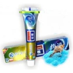 Зубная паста WHITENING Отбеливающая с диоксидом кремния  120г  (Biao Bang) (zp-203)