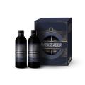 Мужской подарочный набор для мужчин №1120 QP Ambassador (шампунь для волос 250 мл + гель для душа 250 мл)