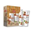 Женский Подарочный набор для женщин №1220 Cloudberry (гель для душа 250 мл + крем д/рук и тела 200 мл) Compliment