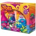 Детский Подарочный набор для детей ТРОЛЛИ №1 Шампунь-бальзам д/волос + Гель для купания Нежный