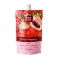 """Гель д/душа (клюква и тростник. сахар) 33% увлажн. молочка  Дой-пак 170мл """"Fresh Juice"""" косметика Эльфа"""