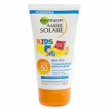Средство для загара Детский солнцезащитный водостойкий крем  SPF 50 Ambre Solaire Kids Garnier 150 мл
