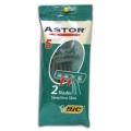 ASTOR TWIN станки одноразовые для чувствительной кожи BIC (5шт. в пакете)